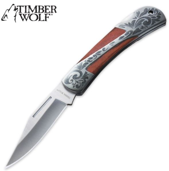Timber Wolf Gentleman's Lockback Pocket Knife (Online Only)