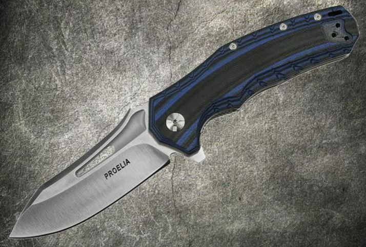 Defcon 020BLS Proelia Satin D2 - Blue and Black (Online Only)
