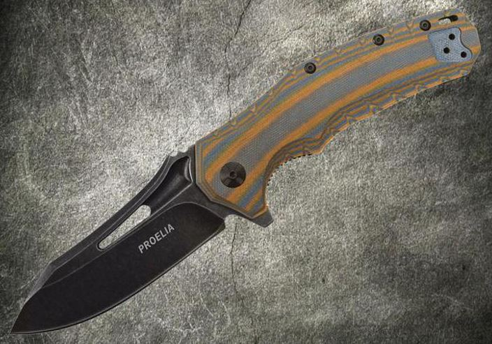 Defcon 020BRB Proelia Black Stonewash D2 Orange & Gray (Online)