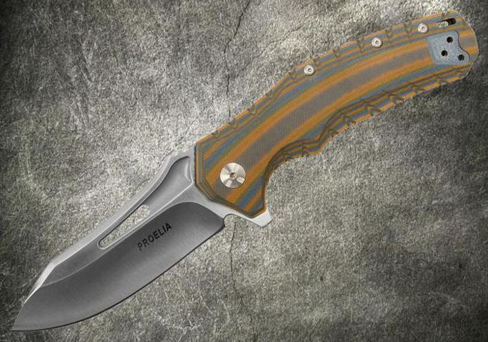 Defcon 020BRS Proelia Satin D2 Orange and Gray (Online Only)