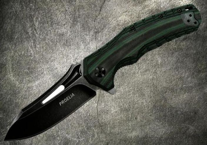 Defcon 020GNB Proelia Black Stonewash - Green and Black