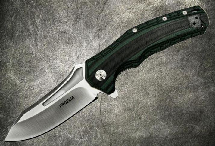 Defcon 020GNS Proelia Satin D2 - Green and Black (Online Only)