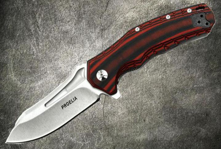 Proelia Stonewash D2 - Red and Black, TX020RW (Online Only)