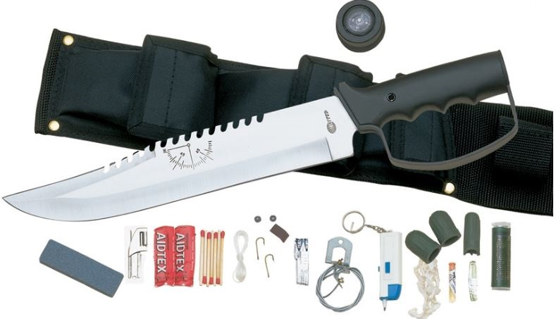 United UC0212 The Bushmaster Survival Knife w/Sheath (Online)