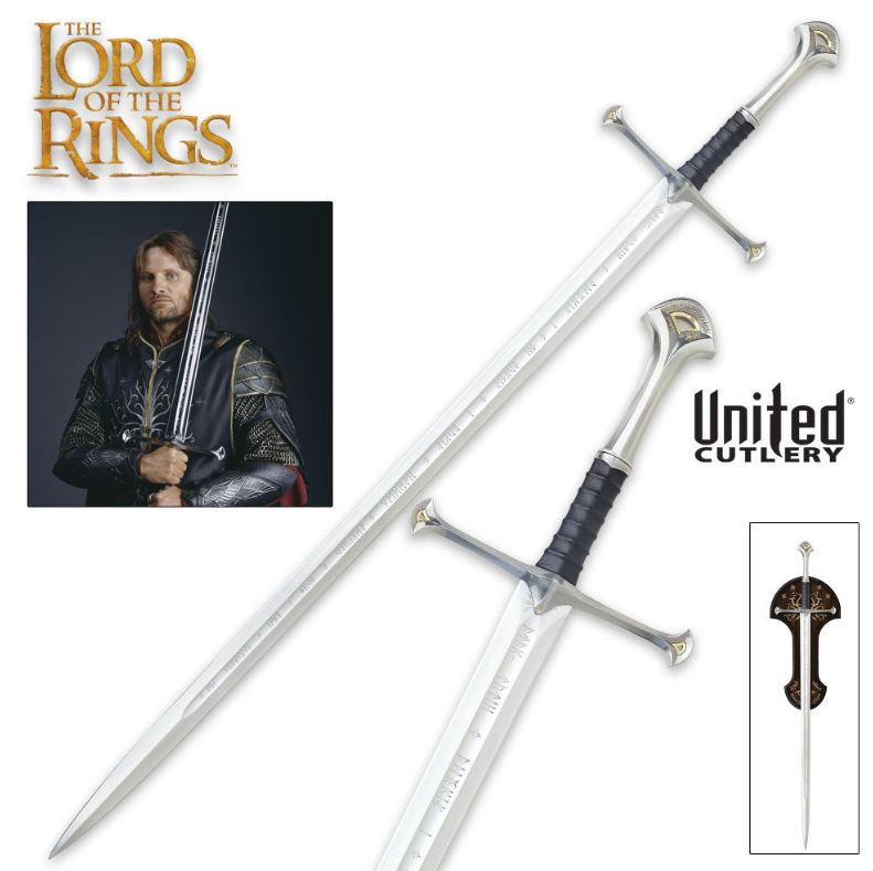 United LOTR Anduril Sword Of King Elessar 1380 (Online Only)