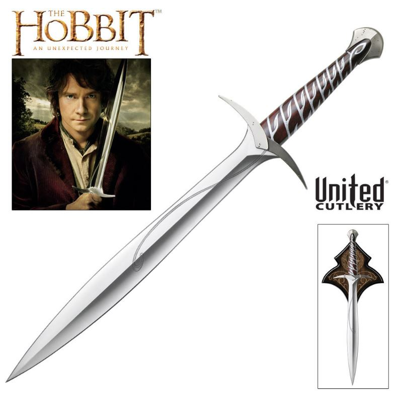 United Hobbit 2892 Sting Sword of Bilbo w/Plaque