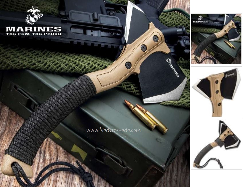 USMC Field Axe w/Sheath UC3365 (Online Only)