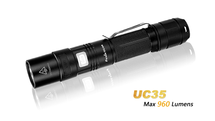 Fenix UC35 USB Rechargeable USB Light - 960 Lumens