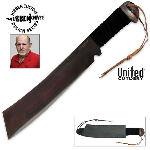 United GH5007 Gil Hibben IV Machete w/ Sheath (Online Only)