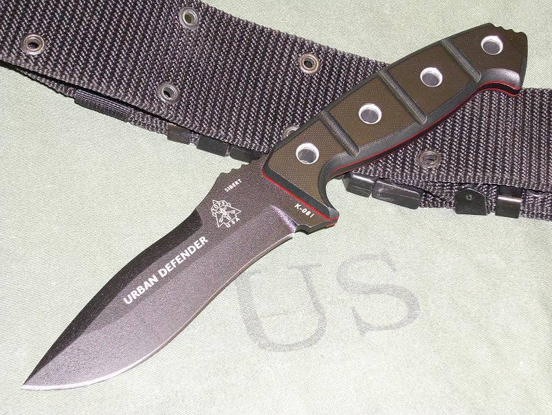 TOPS URDF01 Urban Defender w/Kydex Sheath