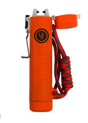 Ultimate Survival TekFire Charge Fuel-Free Lighter - Orange