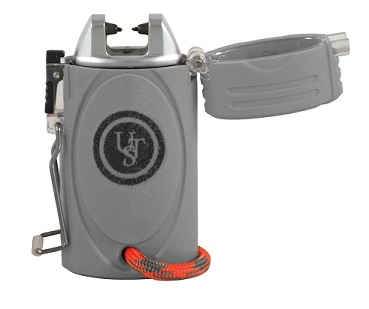 Ultimate Survival TekFire LED Fuel-Free Lighter - Gray
