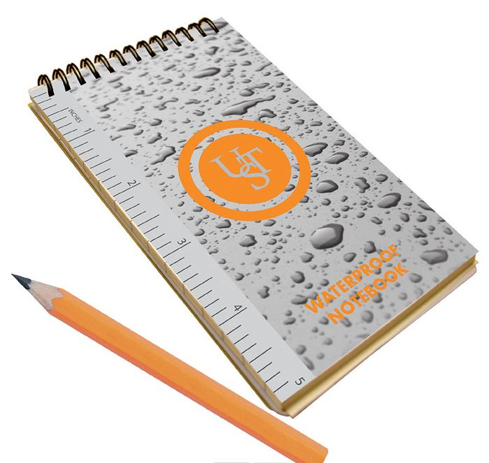 Ultimate Survival Techonologies Waterproof Notebook - 3 x 5
