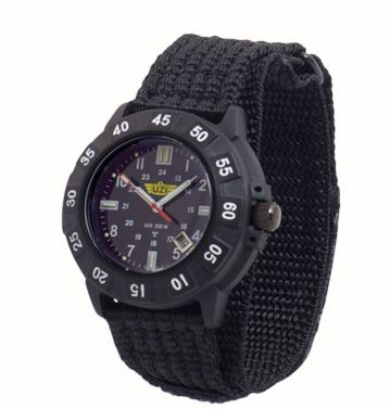 UZI Protector Quartz Watch 001N with Nylon Strap