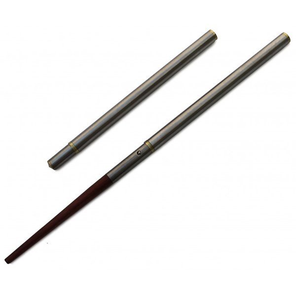 Vargo Stainless ChopstiX w/ Wooden Tips