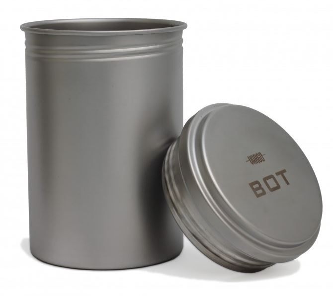 Vargo Stainless Steel BOT Bottle Pot - I Litre