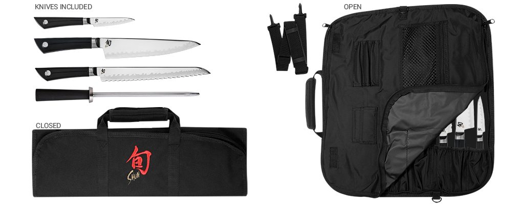 Shun Sora VBS499 5 Piece Student Knife Set