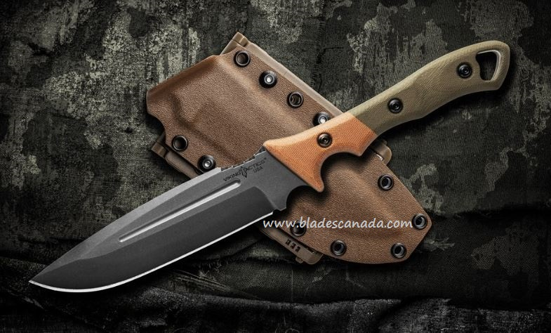 TOPS Viking Tactics Norseman, 1095 Blade, Canvas, Kydex VTAC-01