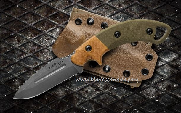 TOPS Viking Tactics Crusader, 1095 Blade, Canvas, Kydex, VTAC-02