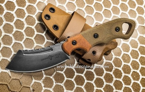 TOPS Viking Tactics Patriot, 1095 Steel, Micarta, Kydex, VTAC-03