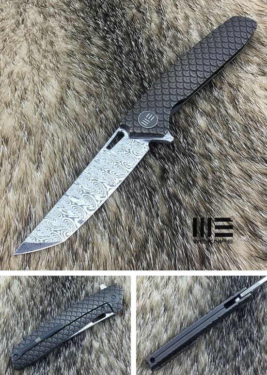 WE Knife 604DST Dragon Scale Damascus Tanto Limited Edition