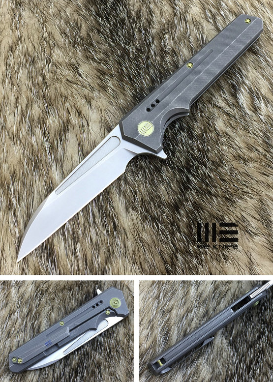 WE Knife 705C Talon M390 Titanium Framelock Grey