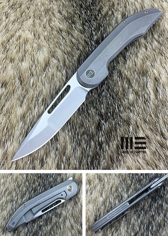 WE Knife 714A Slipstream S35VN Titanium - Grey