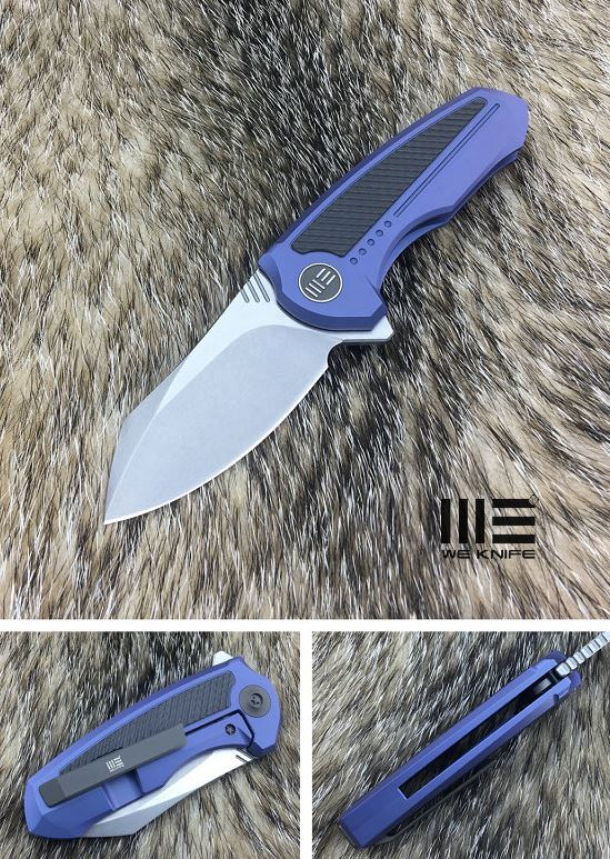 WE Knife 717D Valiant S35VN Titanium - Blue
