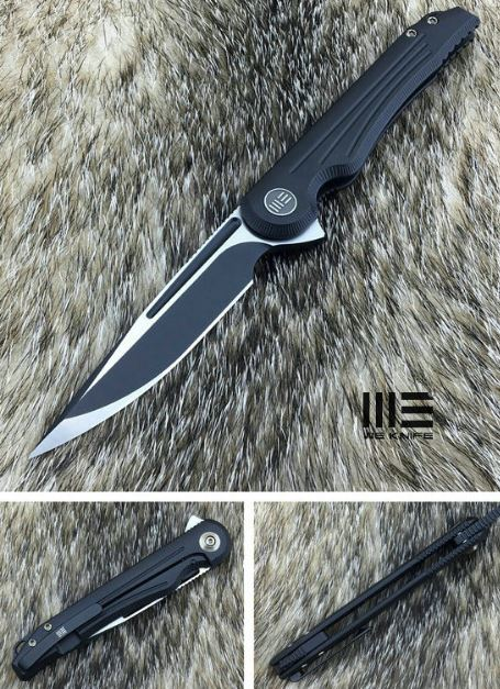 We Knife Array 718G, Titanium Handle, S30VN Steel (Online Only)