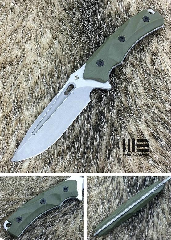 WE Knife 802A Vindex Fixed Blade - Green