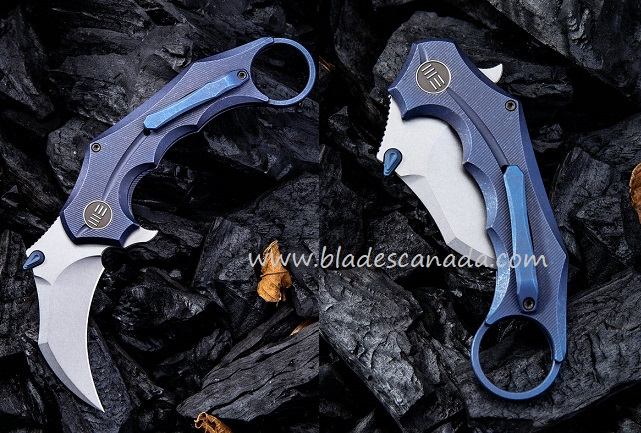 WE Knife 816A Incisor S35VN Karambit - Blue