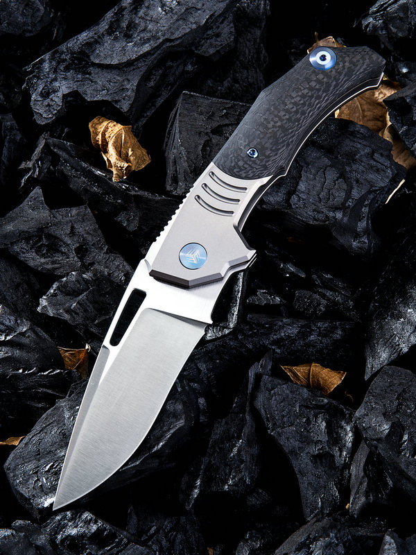 WE Knife 817C Stixx M390 Titanium & Carbon Fiber