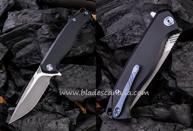 WE Knife 818F Streak M390 Black G-10 Handle