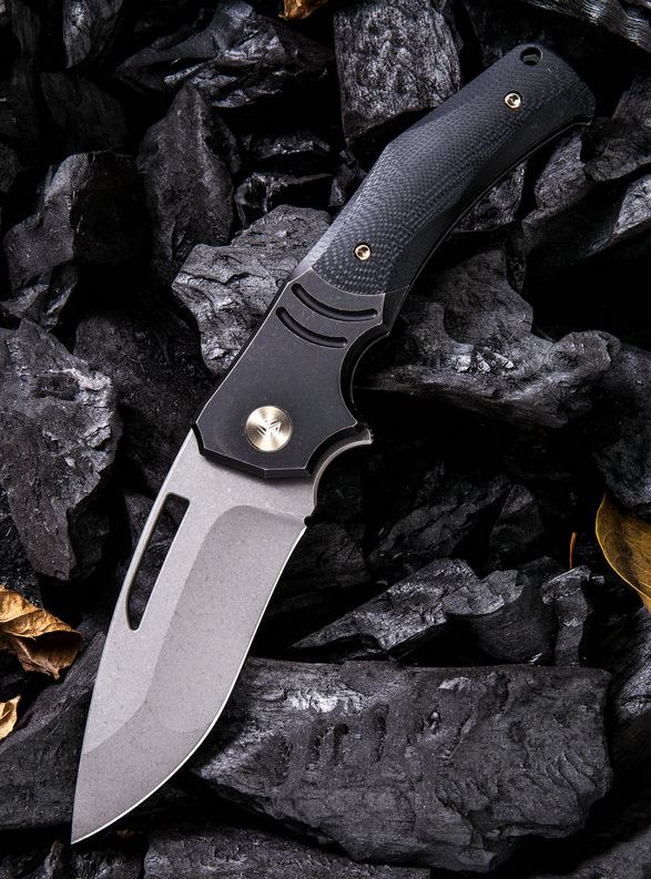 WE Knife 904C JIXX M390 Black G10 & Titanium (Online Only)