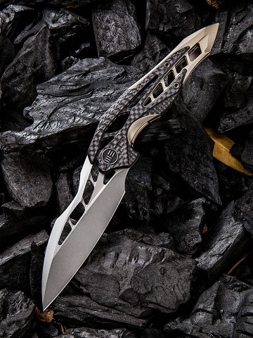 WE Knife 906CFA Arrakis M390 Titanium & Carbon Fiber (Online Only)