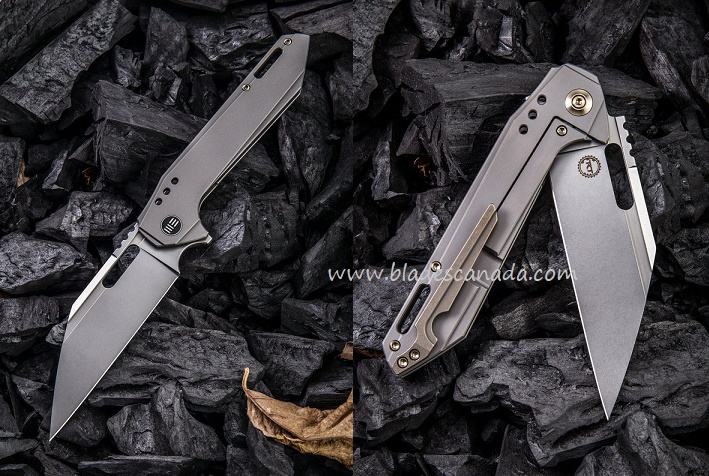 WE Knife 916B Roxi 4 S35VN Titanium Framelock Folder