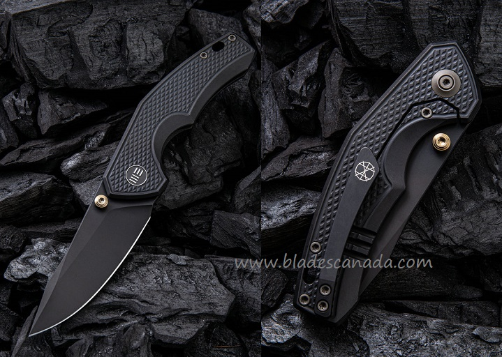 WE Knife 917B Gnar S35VN Black, Black Titanium Handle (Online Only)