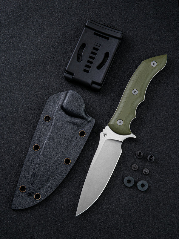 WE Knife 919A Stonefish CPM-20CV - OD Green G10