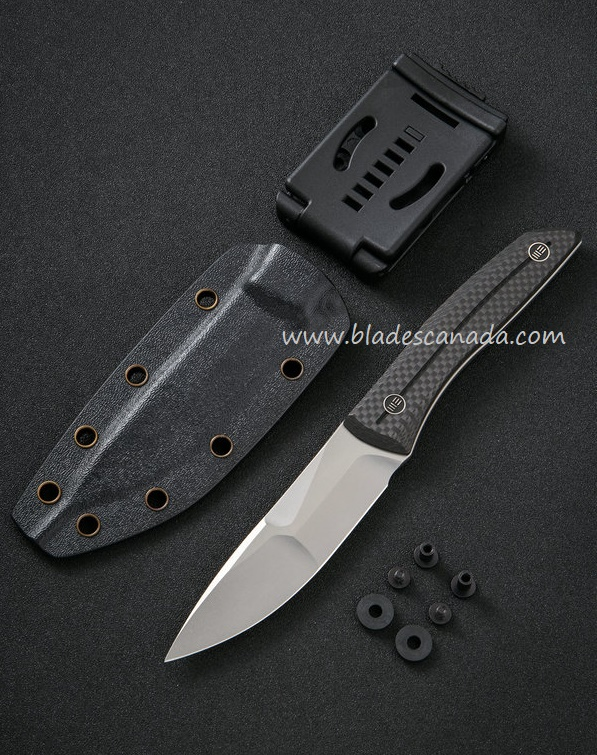 WE Knife 921A Reazio CPM-20CV Fixed Blade - Carbon Fiber (Online Only)