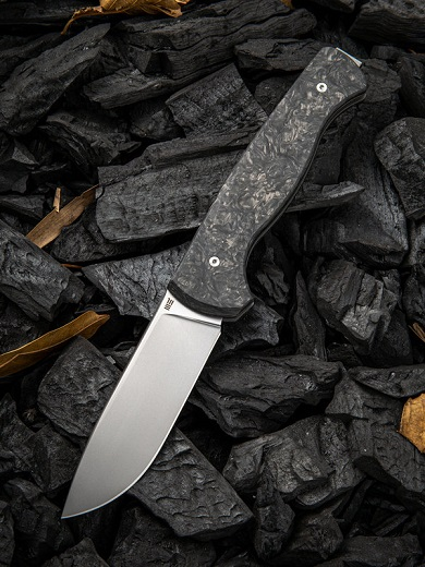 WE Knife 925A MRF Slip Joint S35VN, Marble Carbon Fiber (Online Only)