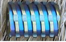 WE Knife A-02C Titanium Bead - Blue