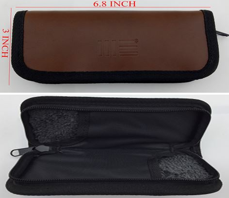 WE Knife A-04 Zippered 2 Slot Knife Pouch