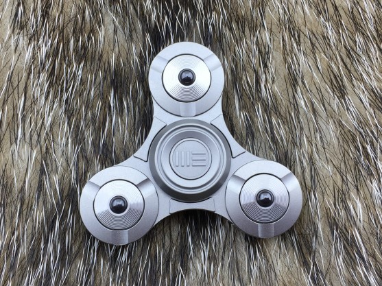 WE Knife S02C Titanium Fidget Spinner - Grey