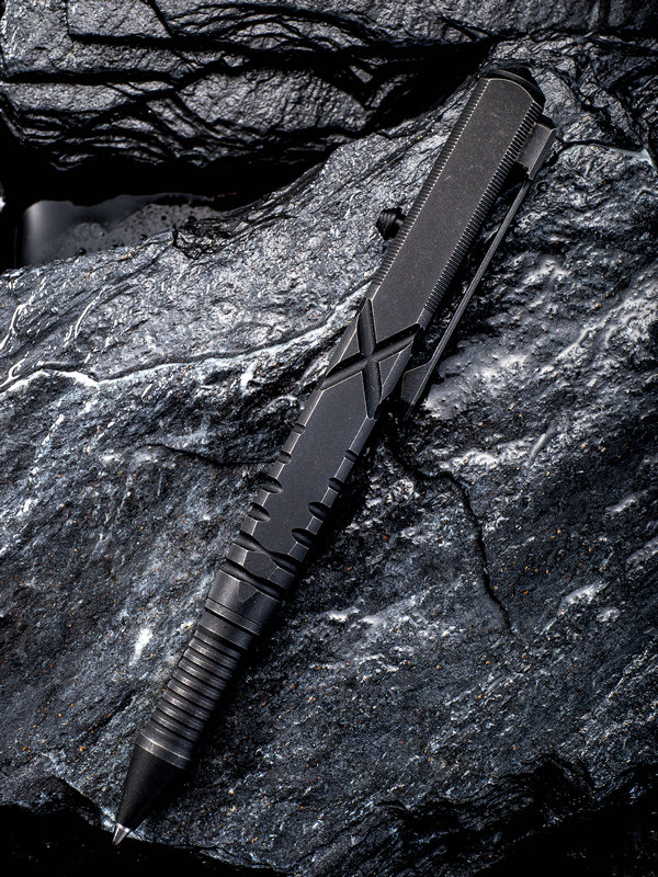 WE Knife TP-02D Titanium Tactical Pen - Black