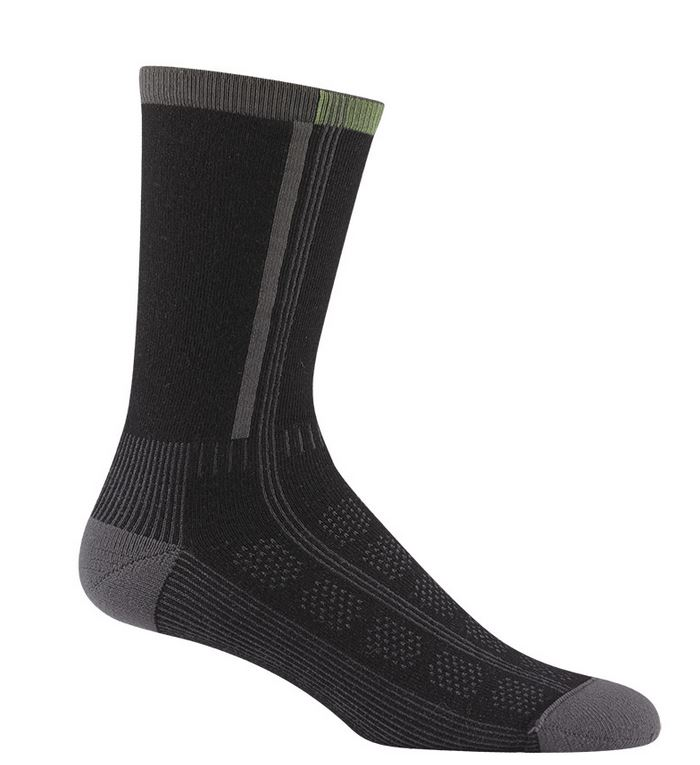 Wigwam 1427 Rebel Fusion Crew II Socks - Black