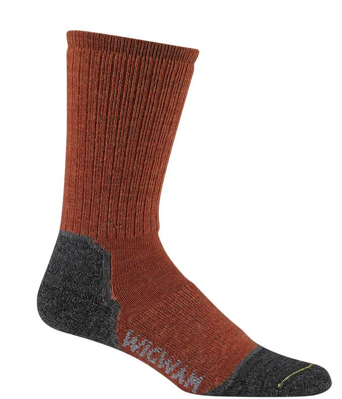 Wigwam 2300 Merino Lite Hiker Socks - Rust Heather