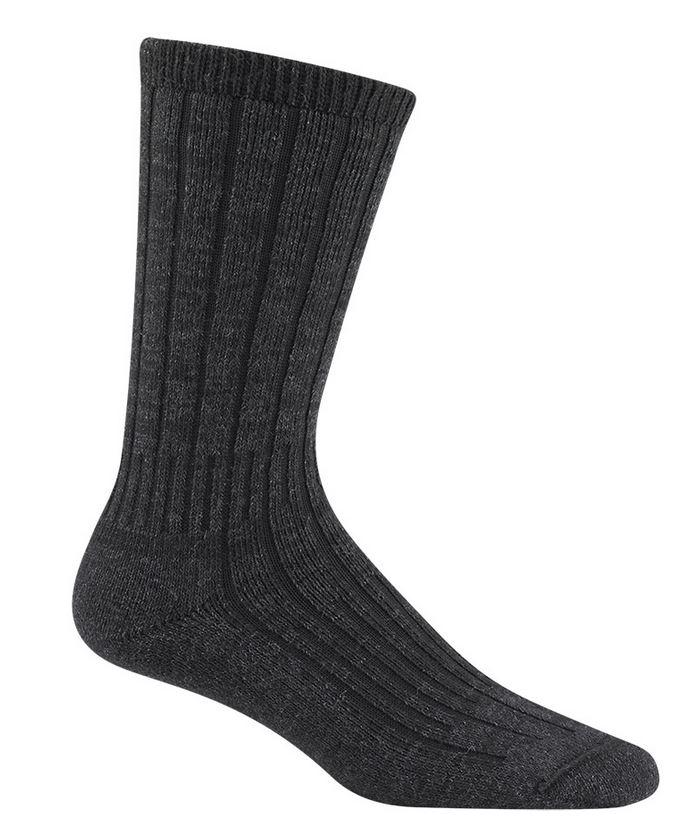 Wigwam 2337 Merino Silk Hiker Socks - Black [Clearance Large]