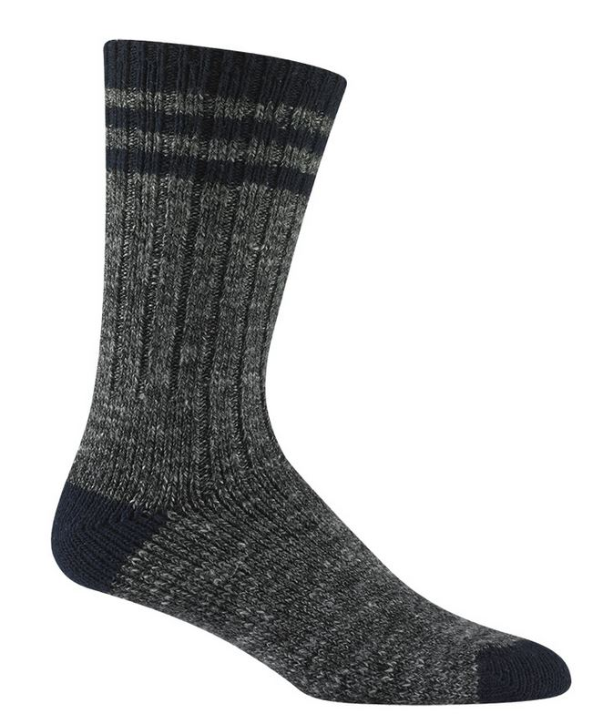 Wigwam 5304 Pine Lodge Socks - Charcoal & Navy
