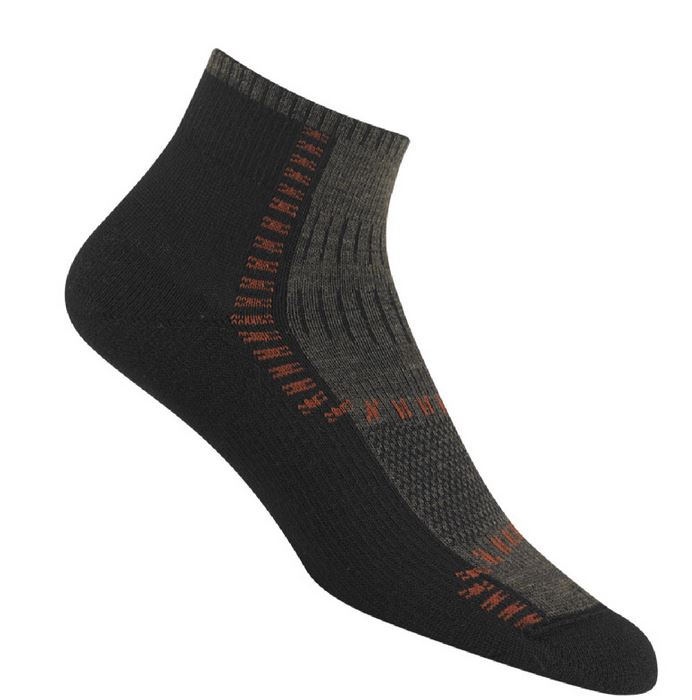 Wigwam 6038 Trail Trax Pro Socks - Taupe & Brown Heather
