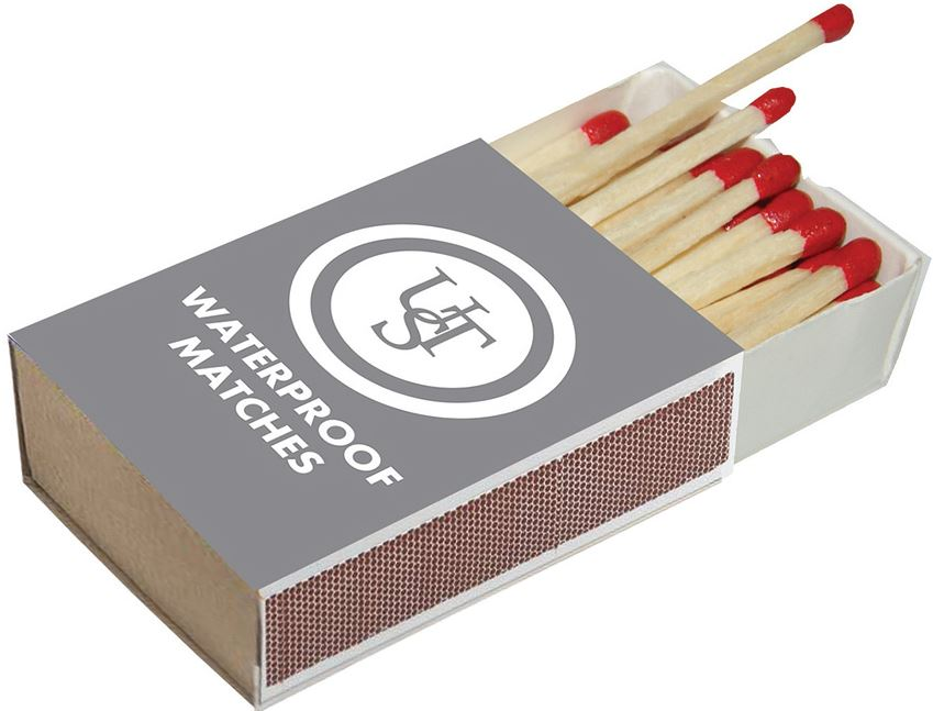 Ultimate Survival Waterproof Matches (4-Pack)